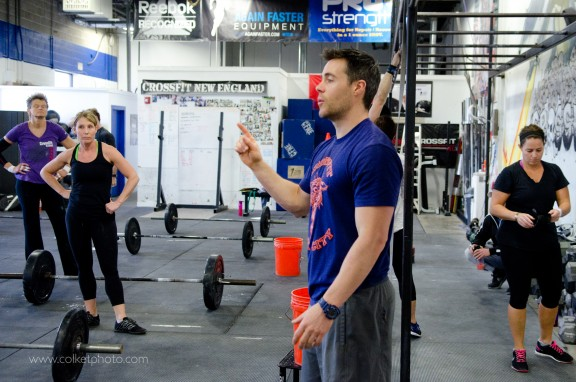 Let me explain...I said Thrusters AND Pullups.