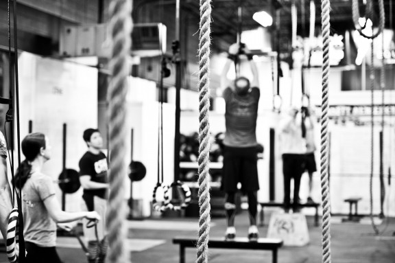 Rope climbs take both practice and training...you need strength and skill to perform these. Work both strength and skill.