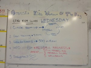 Wednesday's WOD!