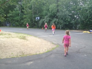 CFNE kids doing a little running!