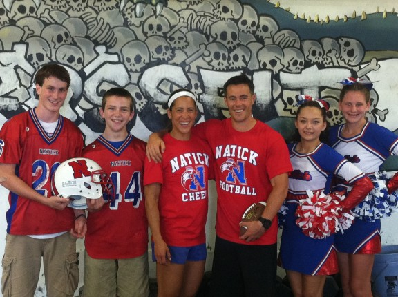 CFNE is the lead sponsor of Natick Football and Cheer. GO GET EM GUYS!