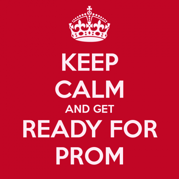 Yup! Get psyched! Prom is right around the corner!
