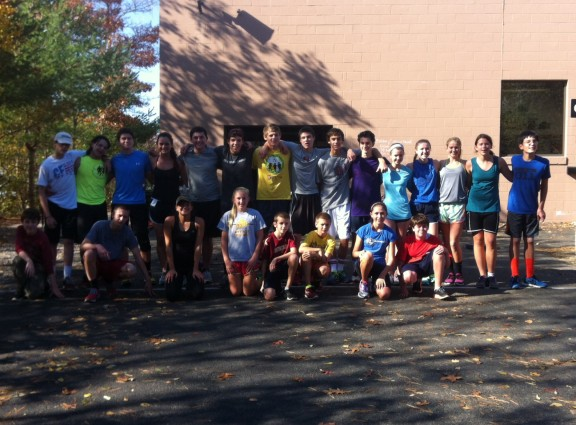 Our High School and Middle School class post WOD. Great group of student-athletes.
