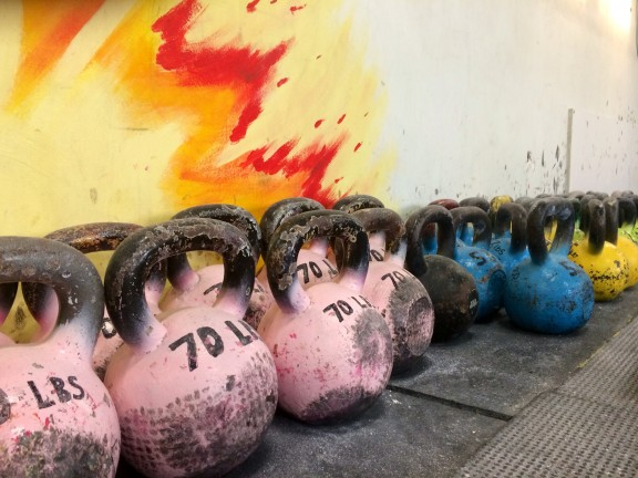 There are still spaces available for the CrossFit Kettlebell Trainer Course.