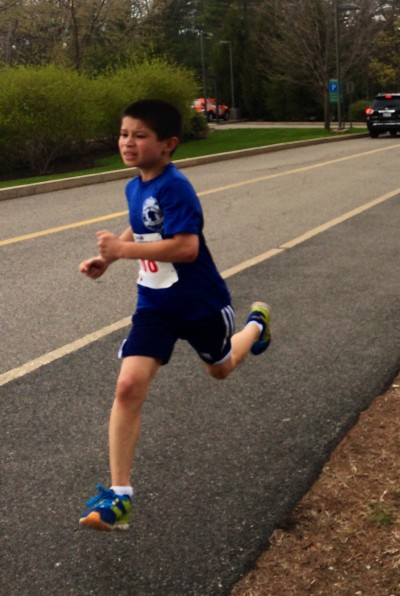 Matthew Forde running like the wind!