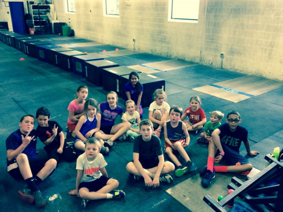 Kids love CFNE CrossFit Kids Class!