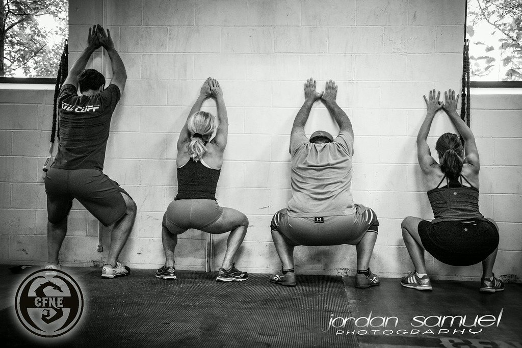 How is your Wall Squat coming?